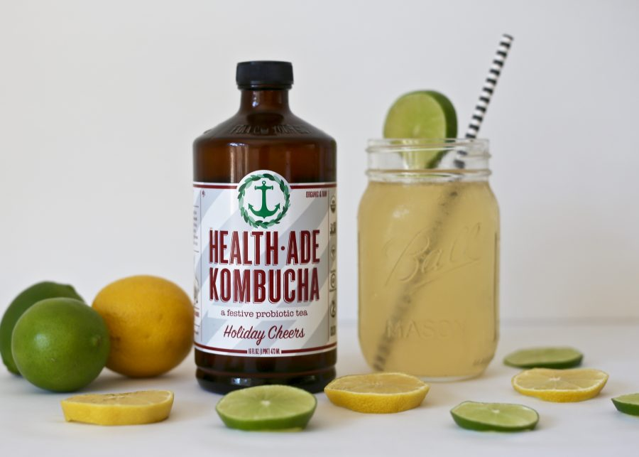 Holiday Kombucha Cocktail